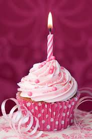 birthday cupcake with candle. Delighful Candle Precious Pink And Perfect For The Little One Whou0027s Turning 1 And Birthday Cupcake With Candle