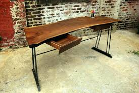 reclaimed wood writing desk wood writing desk view in gallery reclaimed walnut wood writing desk with