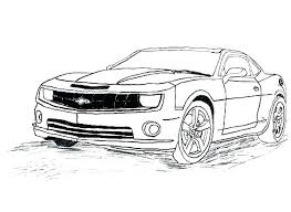 Transformers Coloring Pages Bumblebee Car Coloring Pages For Kids