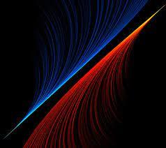 xperia wallpaper 4k,blau,licht,linie ...