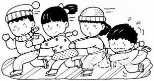 スケート 友達イラストなら小学校幼稚園向け保育園向け健康