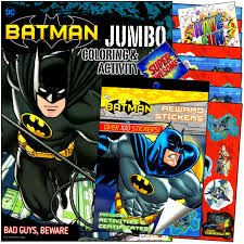 Batman coloring pages are one of the most sought after varieties of coloring pictures, they are widely loved by kids of explore our big collection of free printable batman coloring sheet at coloringonly! Amazon Com Batman Coloring Stickers Books Set With Reward Stickers Coloring Pages Games And Activities Bundle Includes Separately Licensed Gww Stickers Toys Games
