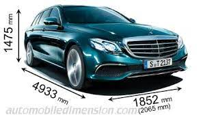 With gains in length, width, and wheelbase. Mercedes Benz E Estate Dimensions And Boot Space Hybrid And Thermal