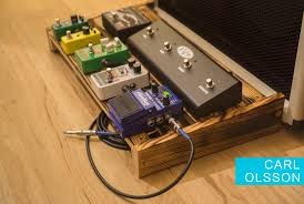 my first guitar project was my pedal board the requirements for a pedal board are pretty simple support pedals and be strong enough to step on