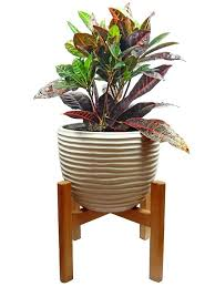 Large Plant Stands Stand Mid Century Modern Planter  Wooden Tall Pot Indoor Wood Flower  Mid Century Modern Metal Plant Stand28