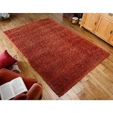 rug 80 x 150. harmony shaggy rug - orange-80 x 150 cm (2\u00278\ 80 r