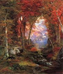 thomas moran the autumnal woods painting for thomas moran the autumnal woods is handmade art reion you can thomas moran the autumnal