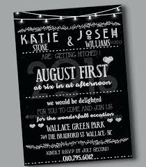 Wedding Invitations Wording Templates Free Black And White Wedding