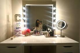 makeup vanity lighting ideas. Full Size Of Uncategorized:makeup Vanity With Lights Ideas Inside Greatest Mirror Desk Makeup Lighting