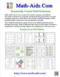 Math : Math Aid Worksheets Fractions Intrepidpath Purple maths aid ...