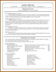 New Grad Rn Resume Template Graduate Nurse Resume Resume Samples