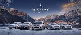 2018 lincoln wish list packshot
