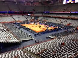 Syracuse Basketball Carrier Dome Seating Chart