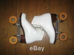 Riedell Or Harlick Womens Roller Skates Atlas E86 Plates Sz
