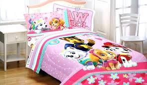 paw patrol twin bed bedding set comforter target sheet paw patrol bed set