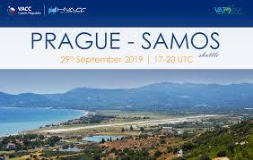 Prague Samos Shuttle 29 9 2019 1700z 2000z