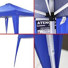 Folding Tent Ntk Duxx Outdoor Portable Foldable Pop Up Canopy Sun Shade Silver