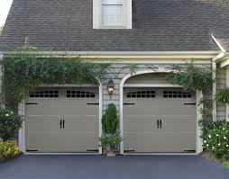 Faux Carriage Style Garage Doors Before And Carriage Style Garage