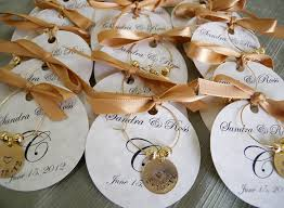 personalized wedding favors