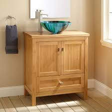 Unfinished Oak Bathroom Vanity Cabinets Globorank - Oak bathroom vanity cabinets