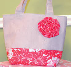 How to Make a Fabric Flower for Quilted Tote Bags and More ... & How to Make a Fabric Flower for Quilted Tote Bags and More – Quilting Daily Adamdwight.com