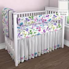 wildflower garden nursery idea customizable crib bedding set