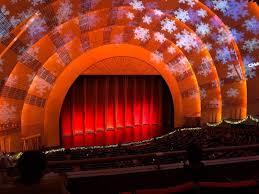 Radio City Music Hall Seating Chart Rockettes Radio City Music Hall Section 2nd Mezzanine 6 Row C Seat
