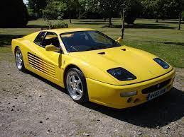 White, black base, black int. Bonhams 1996 Ferrari Testarossa 512m Coupe Chassis No Zffva40c000104668 Engine No 42151