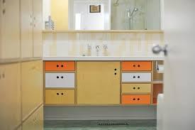 mid century modern bathroom vanity. Mid Century Inspired Bath Vanity Modern Bathroom B