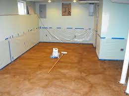 Basement Concrete Floor Paint Ideas Concrete Paint Ideas Basement