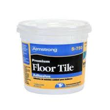 resilient tile adhesive