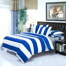 blue white striped quilt full bedding comforter king and navy duvet covers whole modern simple stripe