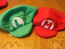 tutorial making mario bros hats