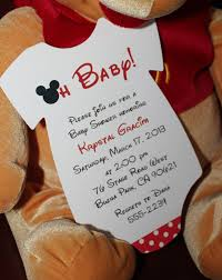Marvellous Mickey Mouse Baby Shower Invitations To Design Free Baby