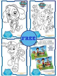 Available in an assortment of colors and adorable varieties such as cats, bears, dogs, elephants, birds, tigers, and more; Free Paw Patrol Colouring Books Activity Sheets Kiddycharts
