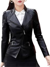 vellichor elegant women s black mamba special mummas princess edition pure genuine sheep leather womens jacket