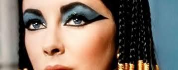 elizabeth taylor cleopatra eyes faces makeup egyptian eye costume