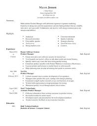 sample product manager resume by clicking build your own you agree to our  terms of use