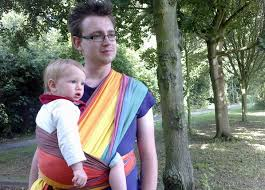 6 great baby carriers & slings for babywearing dads | Inhabitots