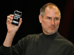 first motorola cell phone 1973. steve jobs introduces the iphone in january, 2007; april 3 marks 40th anniversary of first cellphone motorola cell phone 1973