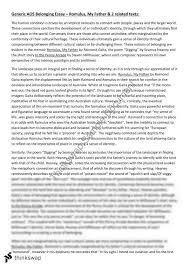 romulus my father essay romulus my father essay year 12 hsc english standard