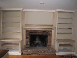Plans for Building a Book Shelf Around a Fireplace   Book shelves ...