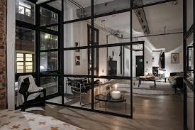 Warehouse style furniture Feminine Warehouse Style Apartment Home021 Kindesign One Kindesign Compact Yet Bright And Airy Warehouse Style Apartment In Sweden