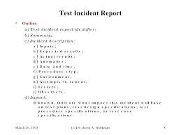 Engineering Test Report Template Engineering Test Report Template