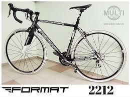 Сервис MULTI » <b>Шоссейный велосипед Format</b> 2212: черно ...