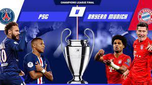 مشاهدة مباراة باريس سان جيرمان وبايرن ميونخ بث مباشر اليوم في دوري ابطال  اوروبا