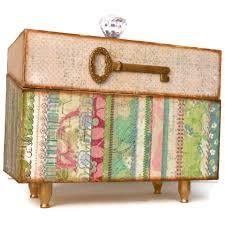 Decorative Recipe Box Wood Box Recipe Card Holder Organizer Storage Antique Key Recipe 54