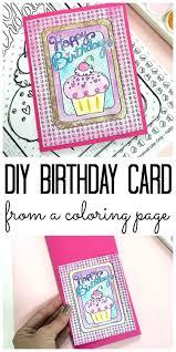 Diy Birthday Card Make A Birthday