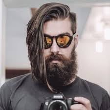 men s long hair with an undercut