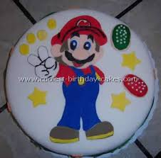 I.pinimg.com the classic cupcakes are vanilla with vanilla buttercream the toadstools have vanilla cupcake faces, and their tops are chocolate mousse with brownie discs inside. Coolest Super Mario Brother Cakes On The Web S Largest Homemade Birthday Cake Gallery